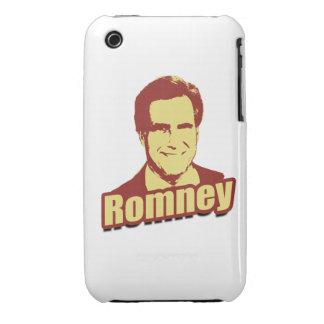 Poste de la propaganda de MITT ROMNEY iPhone 3 Carcasas