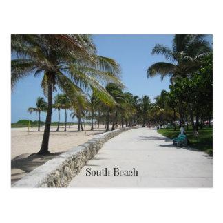 Poste del sur 1 de la playa postales