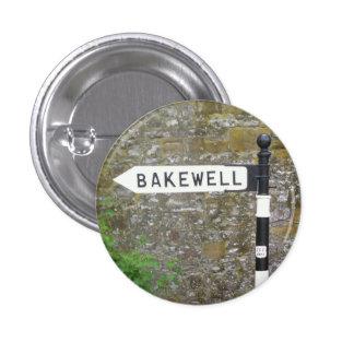 Poste indicador de Bakewell, distrito máximo Pin Redondo De 1 Pulgada