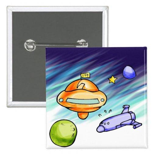 Poste indicador del UFO Pins