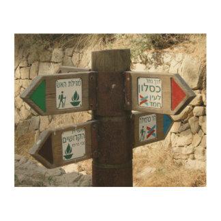 Poste indicador israelí
