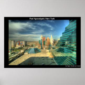 Poste Nueva York apocalíptica Impresiones
