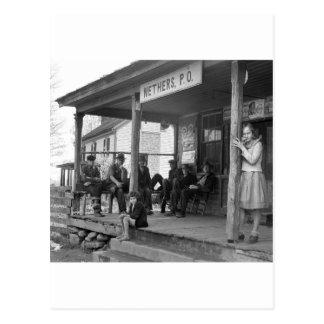 Poste Ofice en Nethers, 1935 Postal