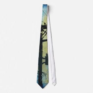Poste para uso general - teléfono poste en azules corbata