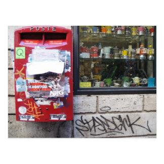 poste postcard