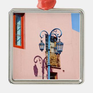 Poste y edificios pintados, Caminito, La de la Adorno De Navidad