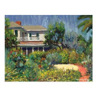 Postecard de la casa de Sandoway Postales
