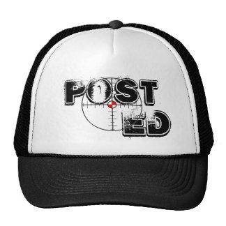 Posted Bullseye Trucker Hat
