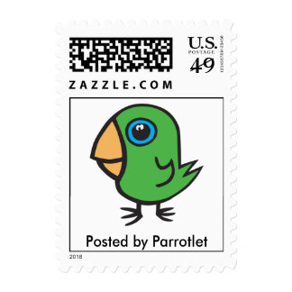 Posted by Parrotlet Postage Stamp
