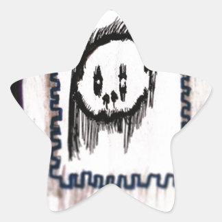 Posted de la Morte Star Sticker