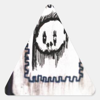 Posted de la Morte Triangle Sticker