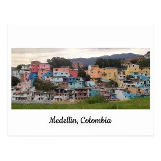 Posted of El Pesebre mural Medellin, Colombia Postcard