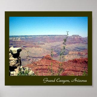 Poster 002 del Gran Cañón