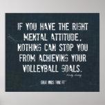 Poster 003 del voleibol - inspiración del dril de