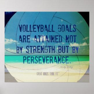 Poster 009 del voleibol de playa para la