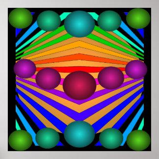 Poster 11 de los colores