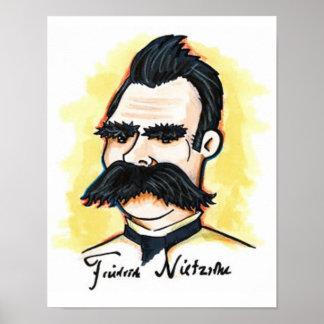 """Poster 11"""" de Nietzsche x 8,5"""""""