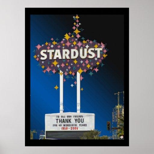 Poster #14 del gráfico de vector de Stardust Las V