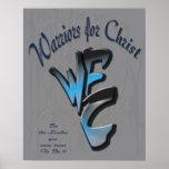 Poster 16x20, WFC. Guerreros para Cristo