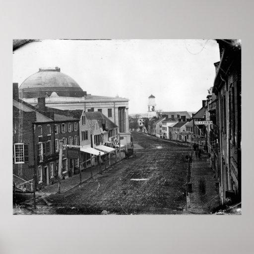 Poster 1846 del intercambio del comerciante de