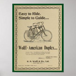 Poster 1896 del arte del anuncio de la revista de