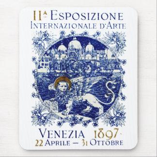 Poster 1897 del arte de Venecia Mousepads