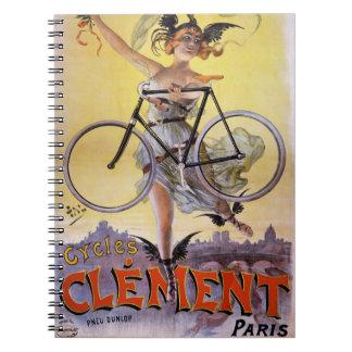 Poster 1898 de la publicidad del vintage de note book