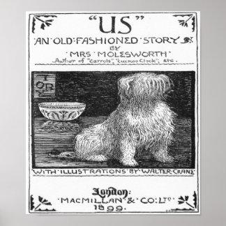 Poster 1899 de la impresión del arte de Londres de