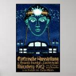 Poster 1912 de la expo de la electricidad