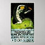 Poster 1913 del objeto expuesto del arte de Nurnbe