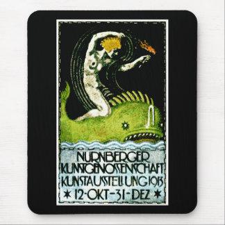 Poster 1913 del objeto expuesto del arte de Nurnbe Alfombrillas De Ratones