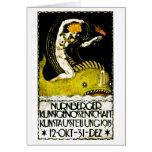 Poster 1913 del objeto expuesto del arte de Nurnbe Felicitacion