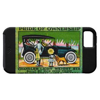 Poster 1914 del automóvil del cerero iPhone 5 coberturas