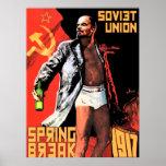 Poster 1917 de las vacaciones de primavera de Unió