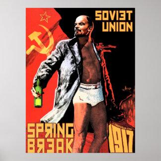 Poster 1917 de las vacaciones de primavera de Unió Póster