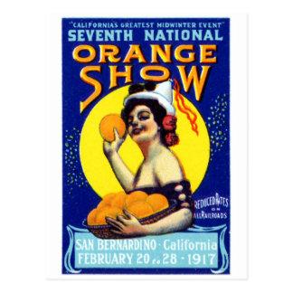 Poster 1917 de San Bernardino Postales