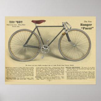 Poster 1918 del arte del anuncio del marcapasos de
