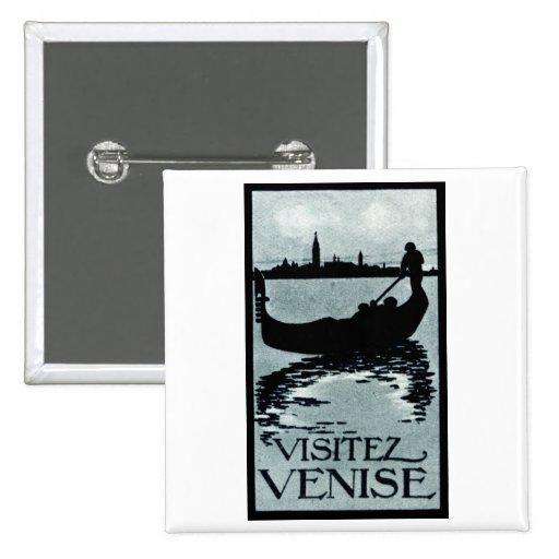 Poster 1920 del viaje de Venecia Pin