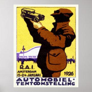 Poster 1926 del Car Show