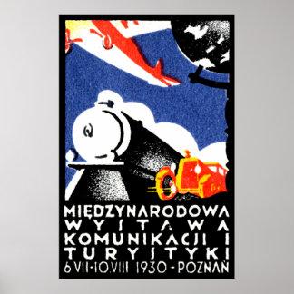 Poster 1930 de la expo de Poznán