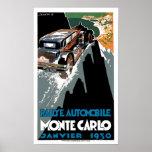 Poster 1930 del arte del anuncio del vintage del a