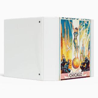 "Poster 1933 de Chicago de la feria de mundos del Carpeta 1 1/2"""