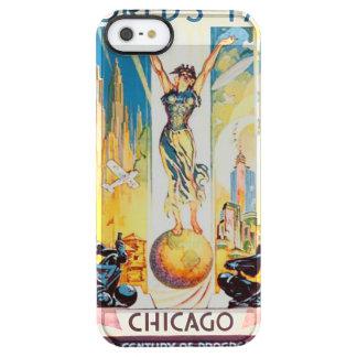 Poster 1933 de Chicago de la feria de mundos del Funda Clearly™ Deflector Para iPhone 5 De Uncommon