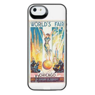 Poster 1933 de Chicago de la feria de mundos del Funda Power Gallery™ Para iPhone 5 De Uncommon