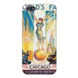 Poster 1933 de Chicago de la feria de mundos del iPhone 5 Fundas