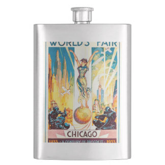 Poster 1933 de Chicago de la feria de mundos del Petacas