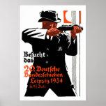 Poster 1934 del tirador