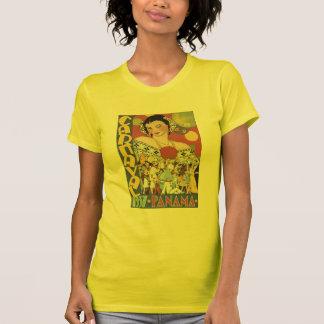 Poster 1937 del viaje de Panamá del carnaval del v Camisetas