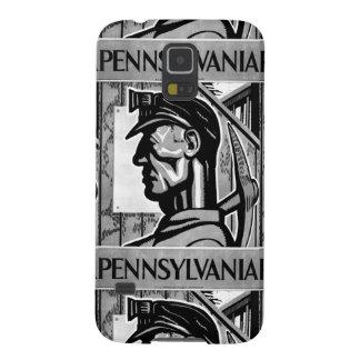 Poster 1938 del carbón de Pennsylvania Carcasa De Galaxy S5