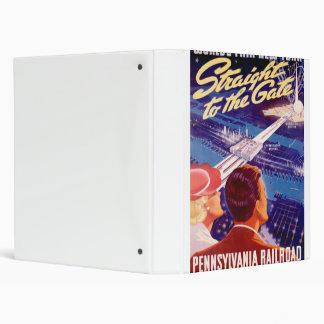 "Poster 1939 de Nueva York de la feria de mundos Carpeta 1"""